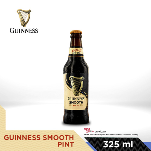 vines, jakarta, indonesia, Guinness Smooth 325ml Bottle