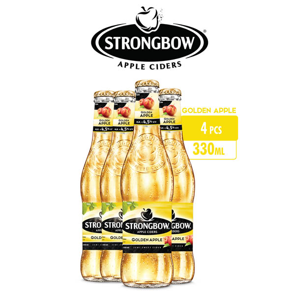vines, jakarta, indonesia, Strongbow Apple Ciders - Gold Apple 4 Packs