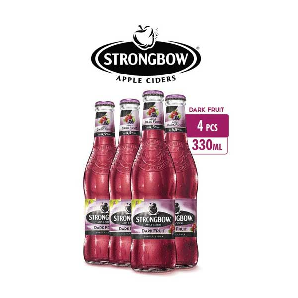 vines, jakarta, indonesia, Strongbow Apple Ciders - Dark Fruits 4 Packs