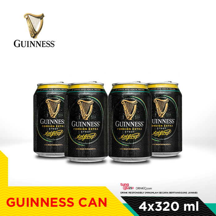 vines, jakarta, indonesia, Guinness 320ml x 4 Can