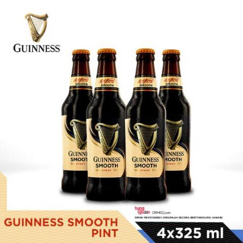vines, jakarta, indonesia, Guinness Smooth 325ml Bottle x 4