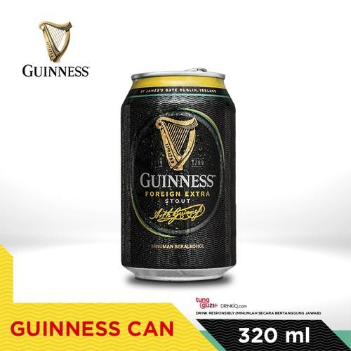 vines, jakarta, indonesia, Guinness Can 320ml