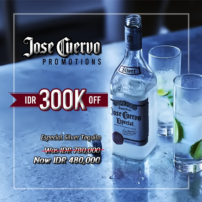 vines, jakarta, indonesia, Jose Cuervo Especial Silver Tequila