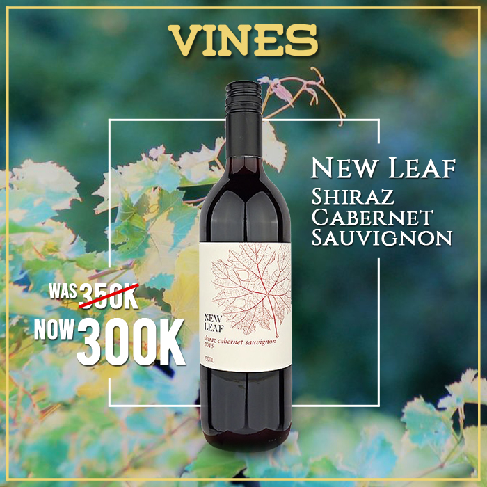 vines, jakarta, indonesia, New Leaf Carbernet Shiraz