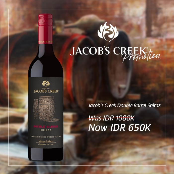 vines, jakarta, indonesia, Jacobs Creek Double Barrel Shiraz
